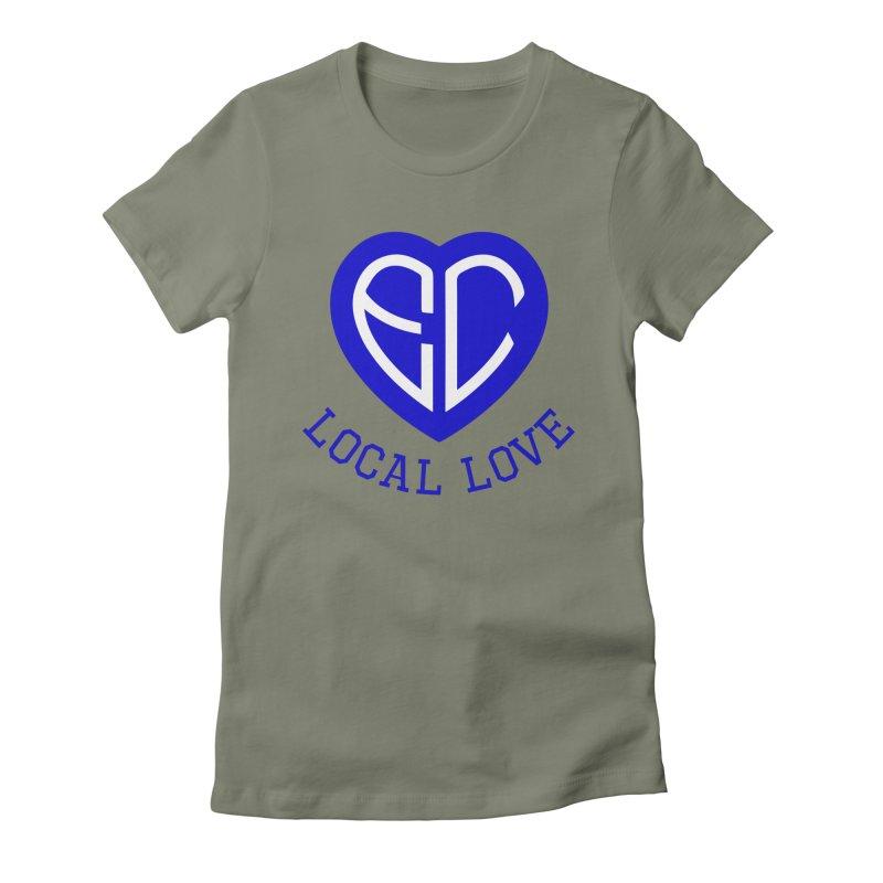 Ellwood City Local Love Women's T-Shirt by The One Designer MERCH