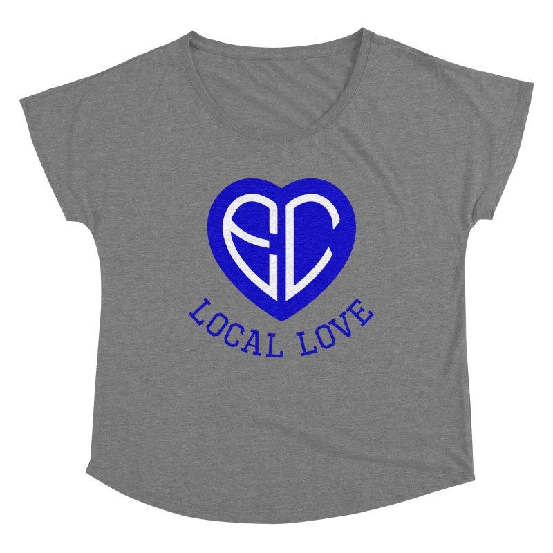 Ellwood City Local Love Women's Scoop Neck by The One Designer MERCH