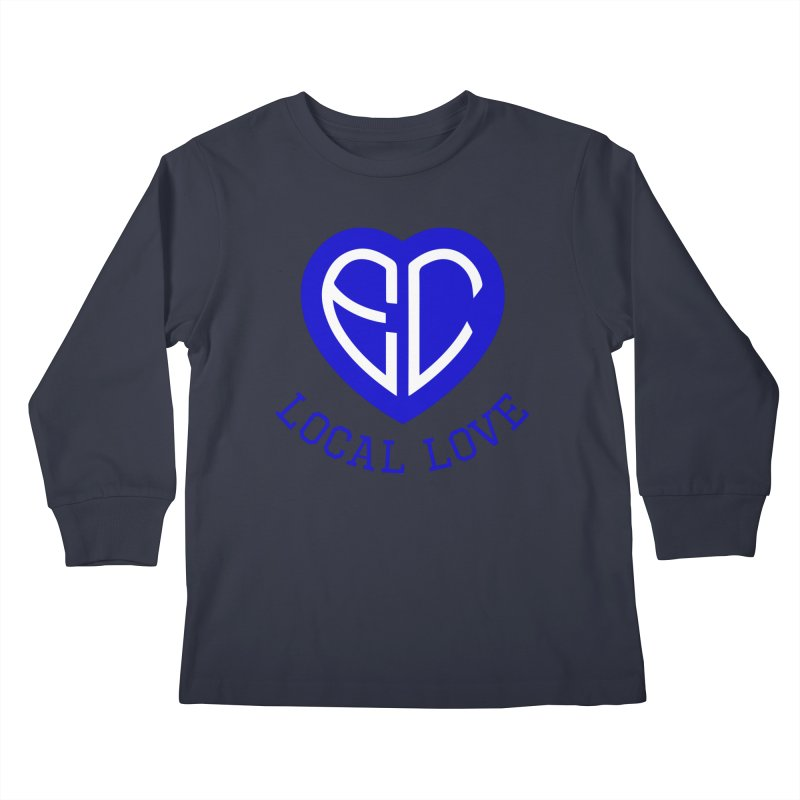 Ellwood City Local Love Kids Longsleeve T-Shirt by The One Designer MERCH
