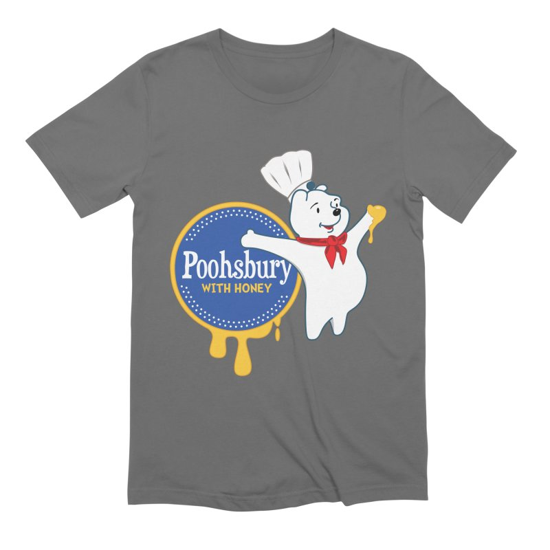 Poohsbury: With Honey Men's T-Shirt by The One Designer MERCH