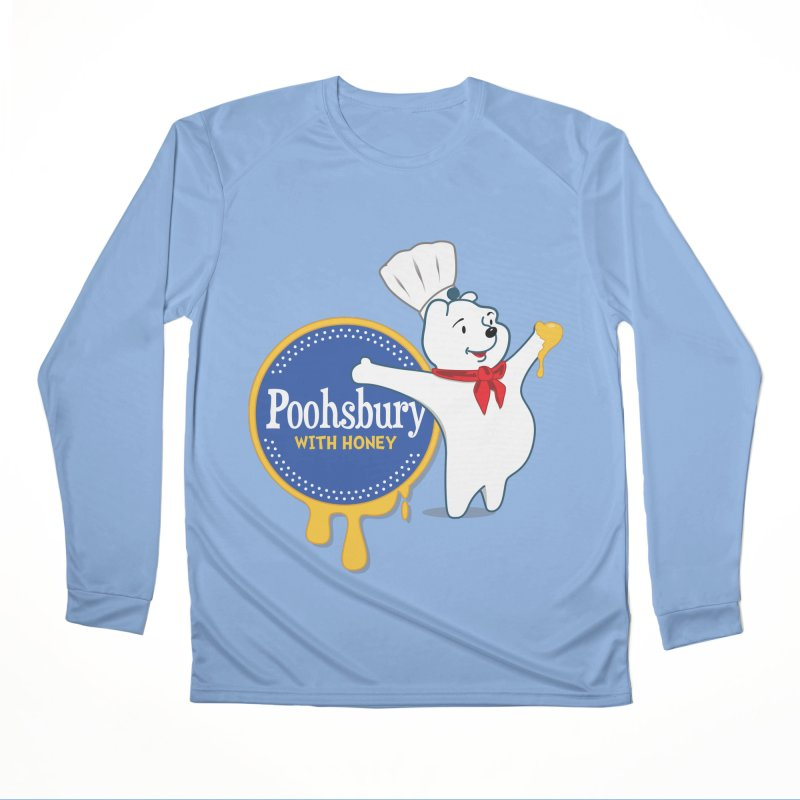Poohsbury: With Honey Men's Longsleeve T-Shirt by The One Designer MERCH