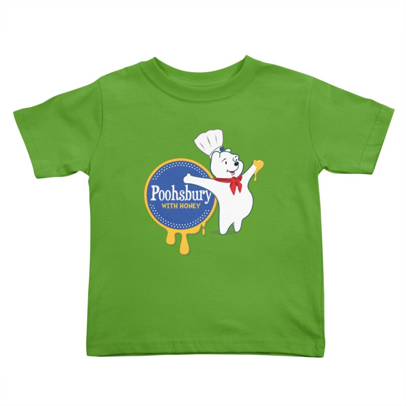 Poohsbury: With Honey Kids Toddler T-Shirt by The One Designer MERCH