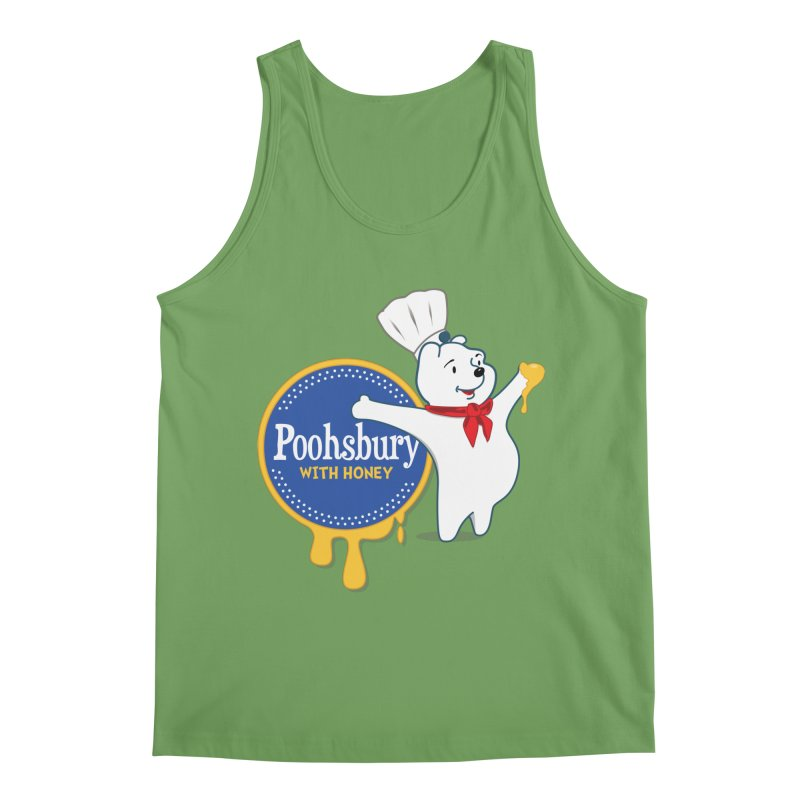 Poohsbury: With Honey Men's Tank by The One Designer MERCH