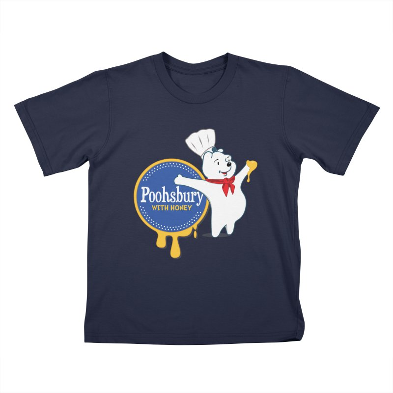 Poohsbury: With Honey Kids T-Shirt by The One Designer MERCH