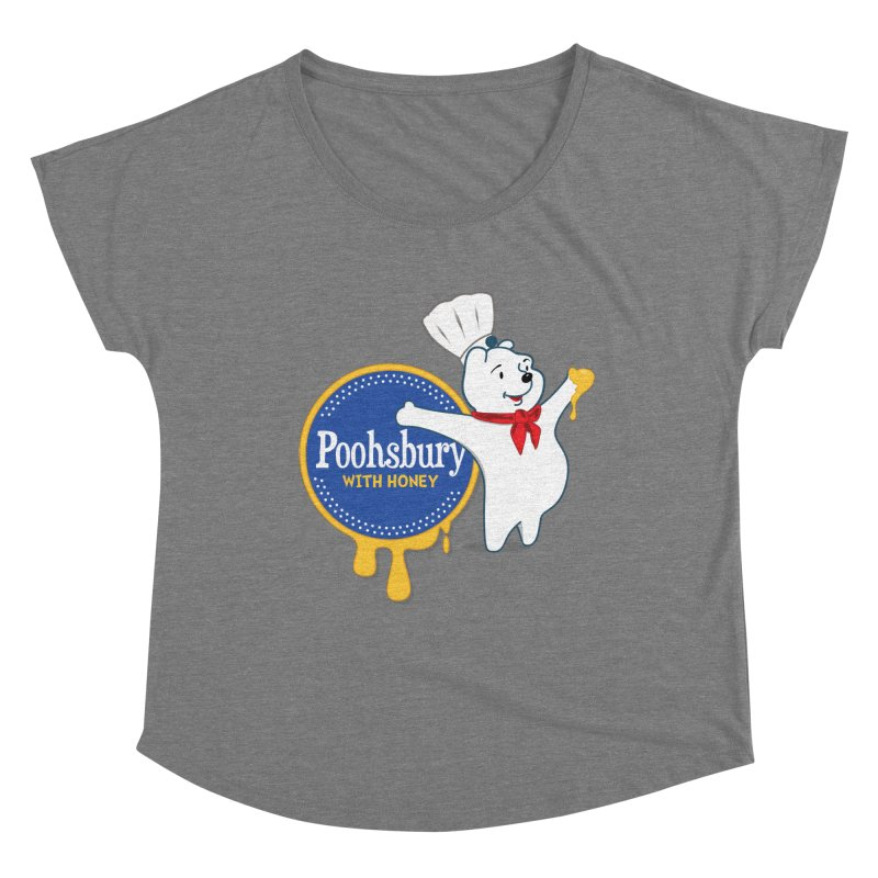 Poohsbury: With Honey Women's Scoop Neck by The One Designer MERCH