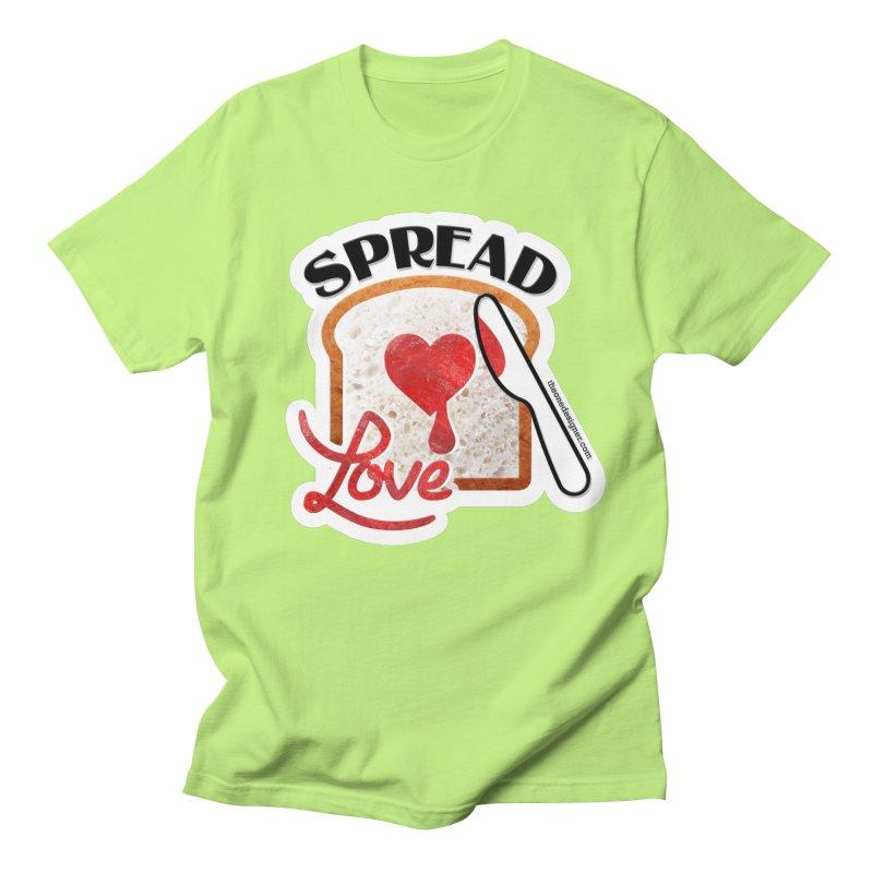 Spread Love Men's T-Shirt by The One Designer MERCH