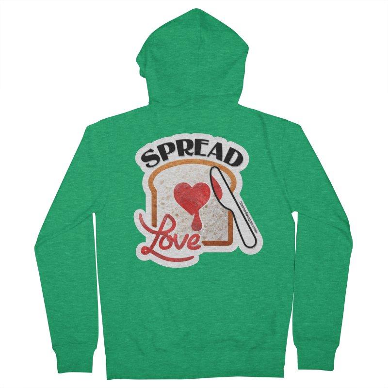 Spread Love Women's Zip-Up Hoody by The One Designer MERCH