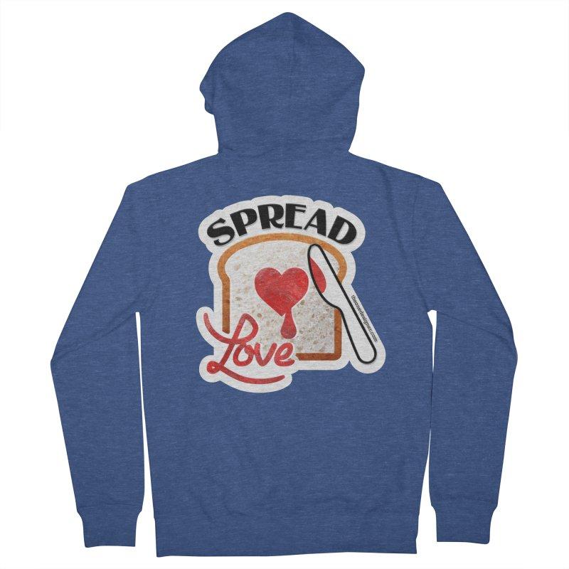 Spread Love Men's Zip-Up Hoody by The One Designer MERCH