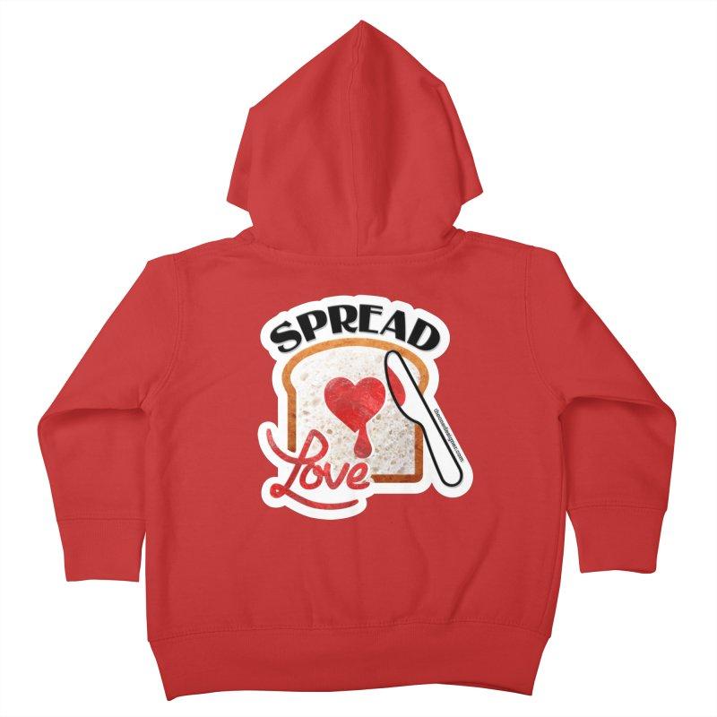 Spread Love Kids Toddler Zip-Up Hoody by The One Designer MERCH