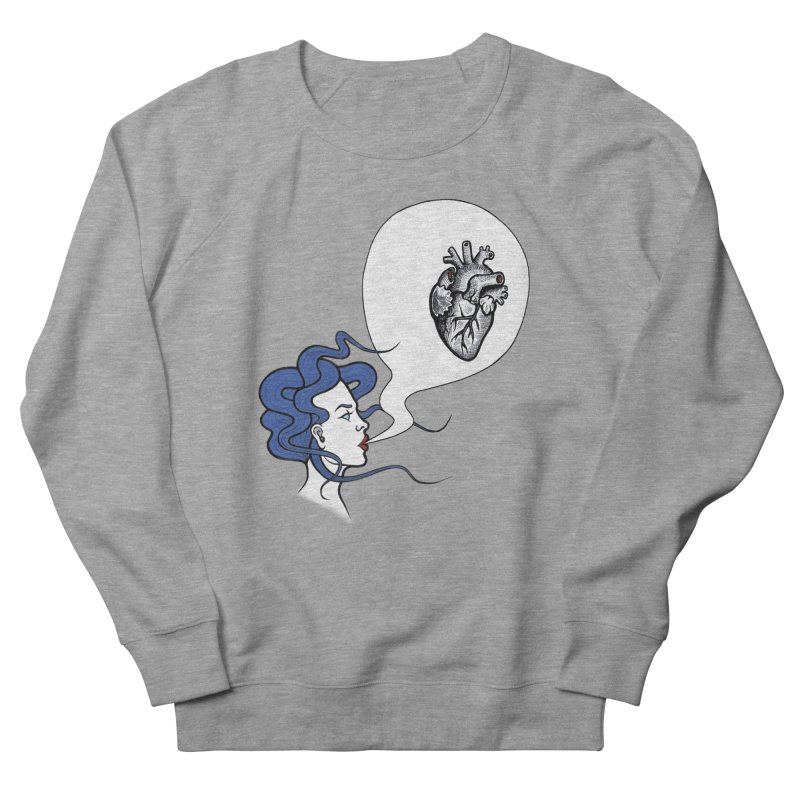 Eat Your Heart Men's Sweatshirt by T.O.M.'s Artist Shop