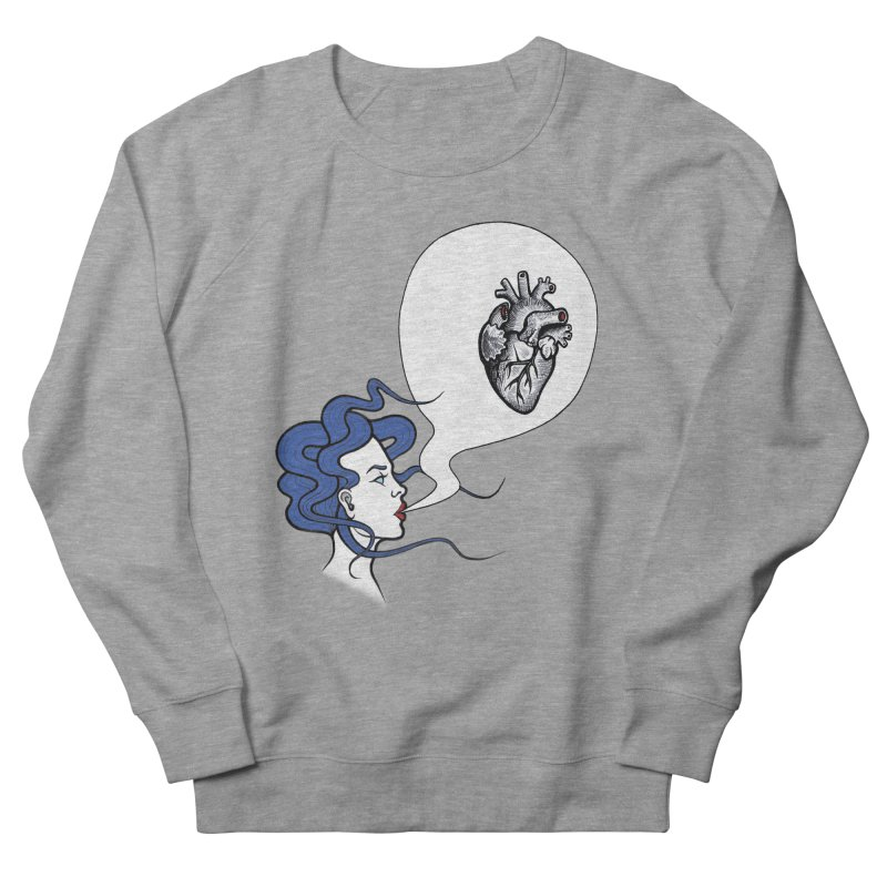 Eat Your Heart Men's Sweatshirt by T.O.M.'s Artist Shop
