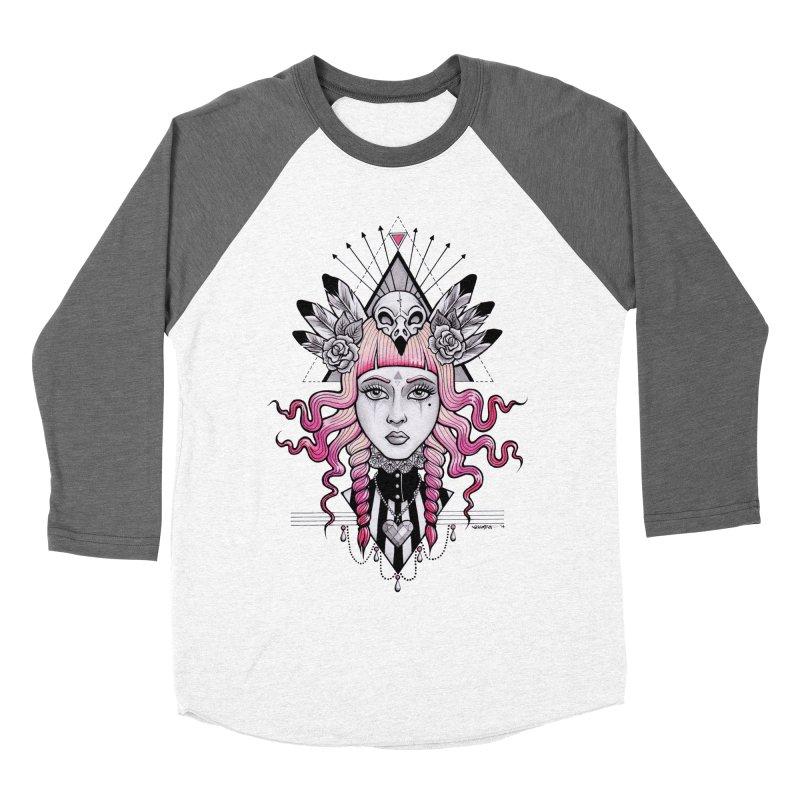 Pirate Queen Women's Baseball Triblend T-Shirt by T.O.M.'s Artist Shop