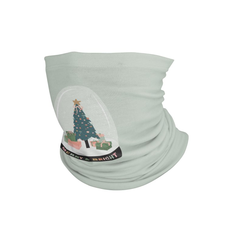 'This The Season / Christmas Snow Globe Accessories Neck Gaiter by The Optimist