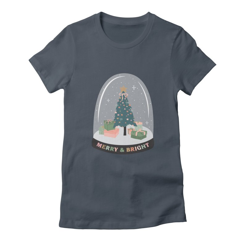 'This The Season / Christmas Snow Globe Women's T-Shirt by The Optimist