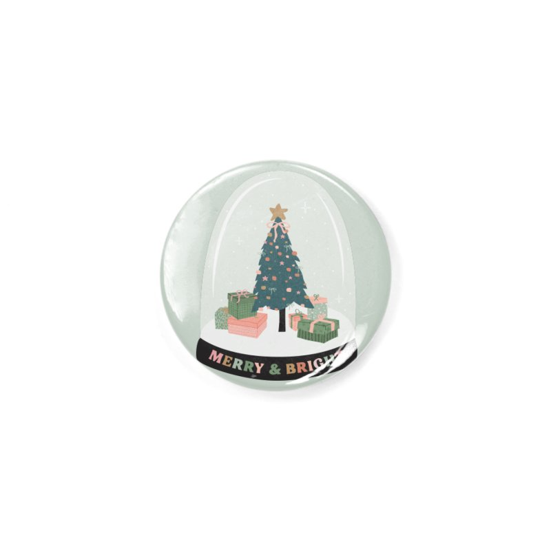 'This The Season / Christmas Snow Globe Accessories Button by The Optimist