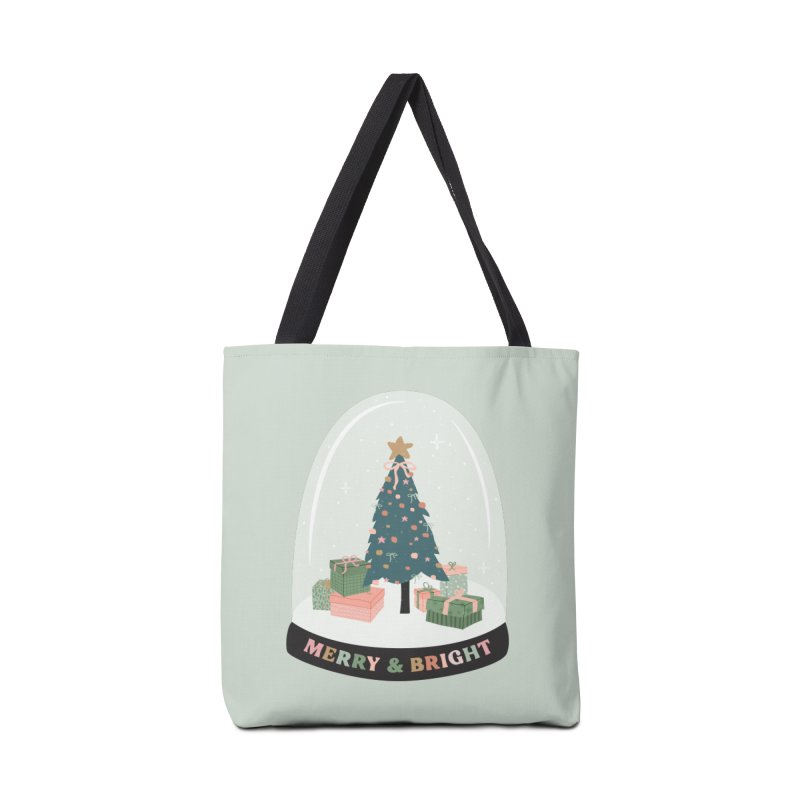 'This The Season / Christmas Snow Globe Accessories Bag by The Optimist