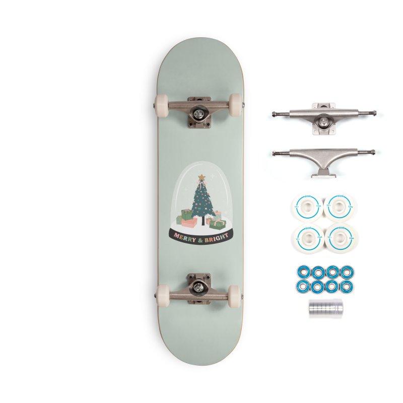 'This The Season / Christmas Snow Globe Accessories Skateboard by The Optimist