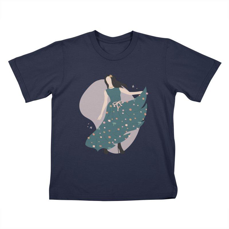 My Little Green Dress Kids T-Shirt by The Optimist