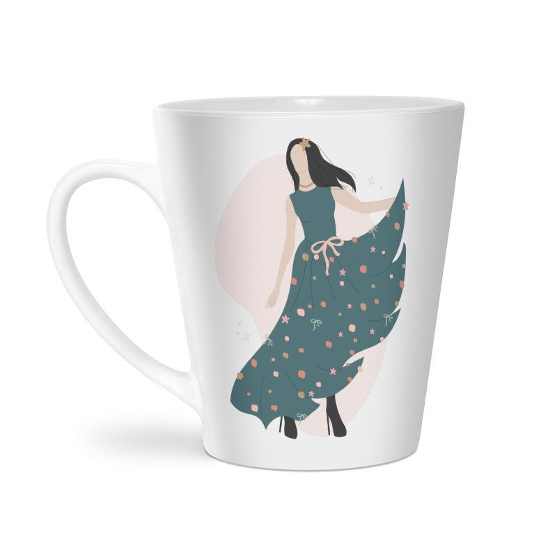 My Little Green Dress Accessories Mug by The Optimist
