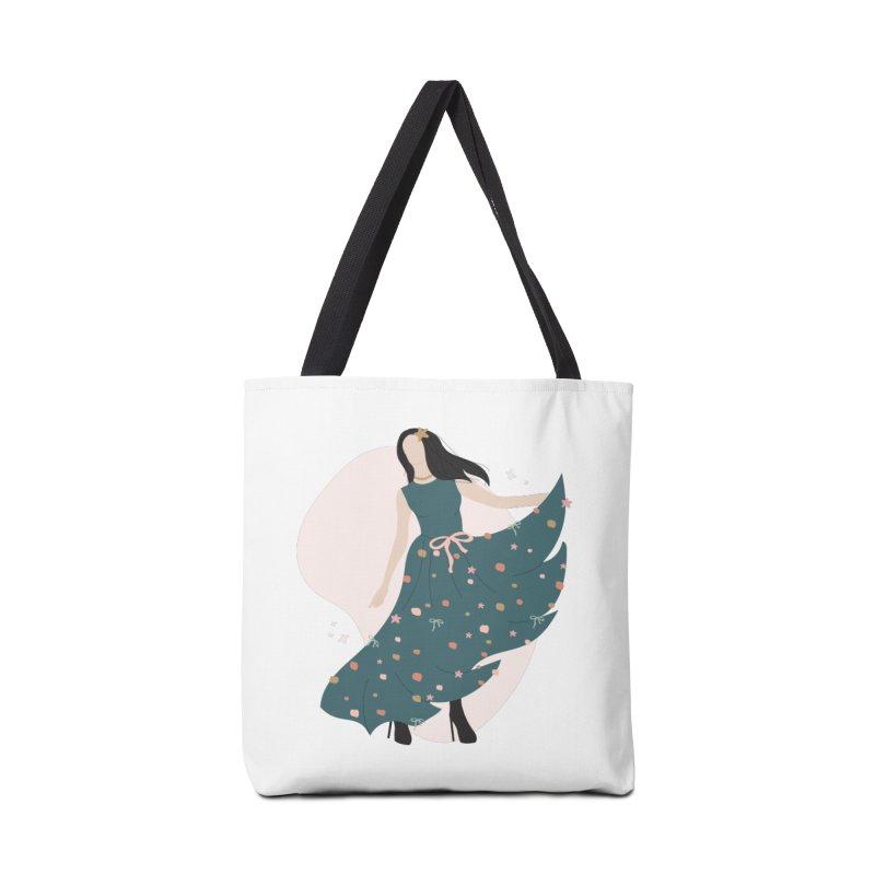 My Little Green Dress Accessories Bag by The Optimist