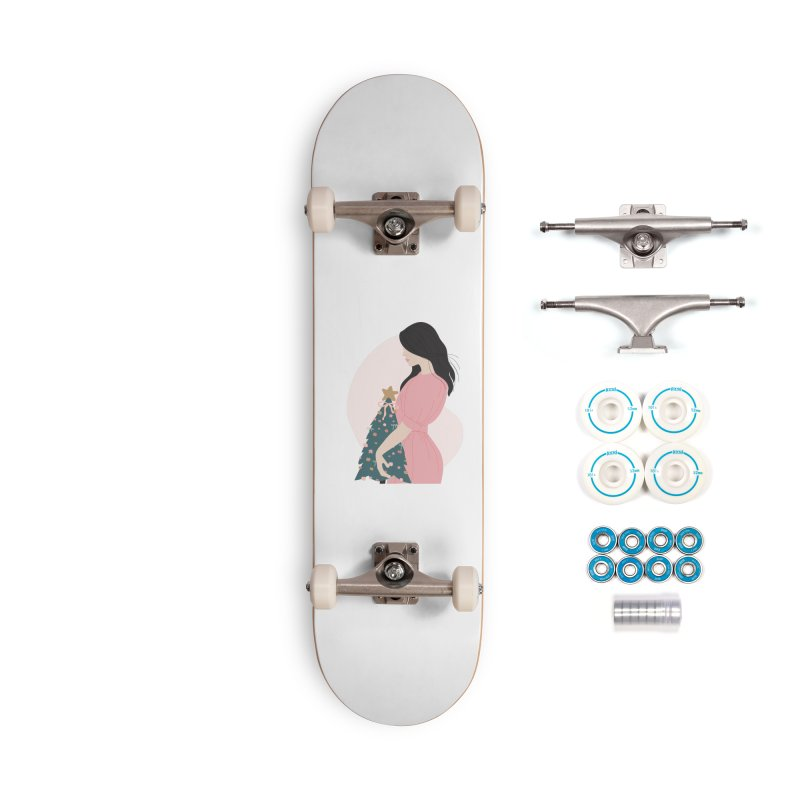 Merry Little Christmas To Me Accessories Skateboard by The Optimist