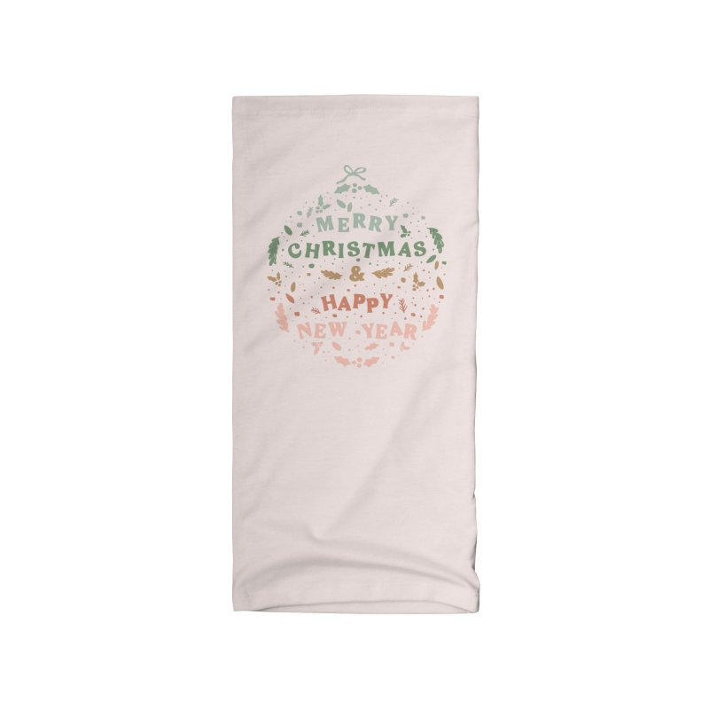 Christmas Greeting Ball Accessories Neck Gaiter by The Optimist