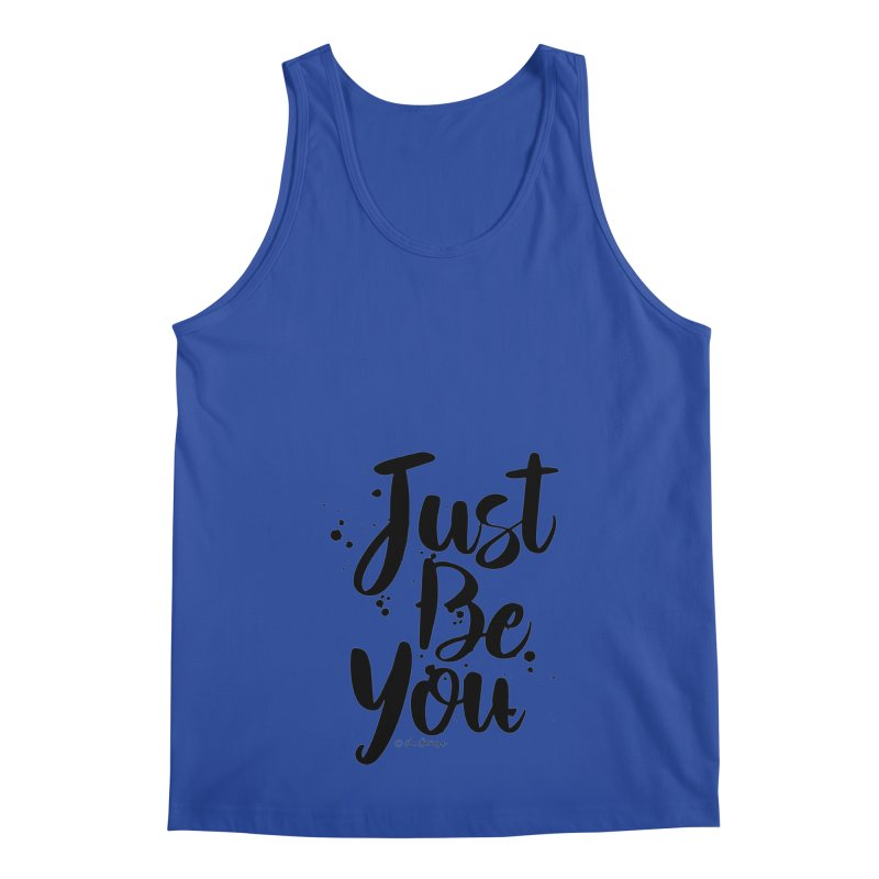 Just Be You Men's Regular Tank by The Optimist