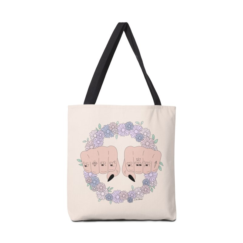 Girl Power Accessories Tote Bag Bag by The Optimist
