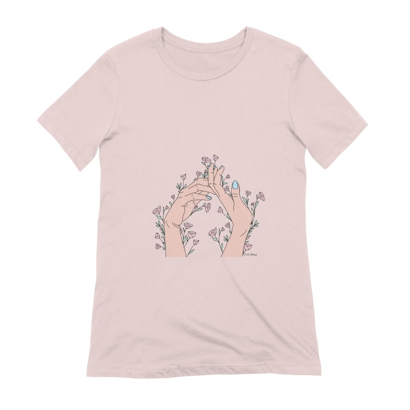 Let It Grow Women's Extra Soft T-Shirt by The Optimist