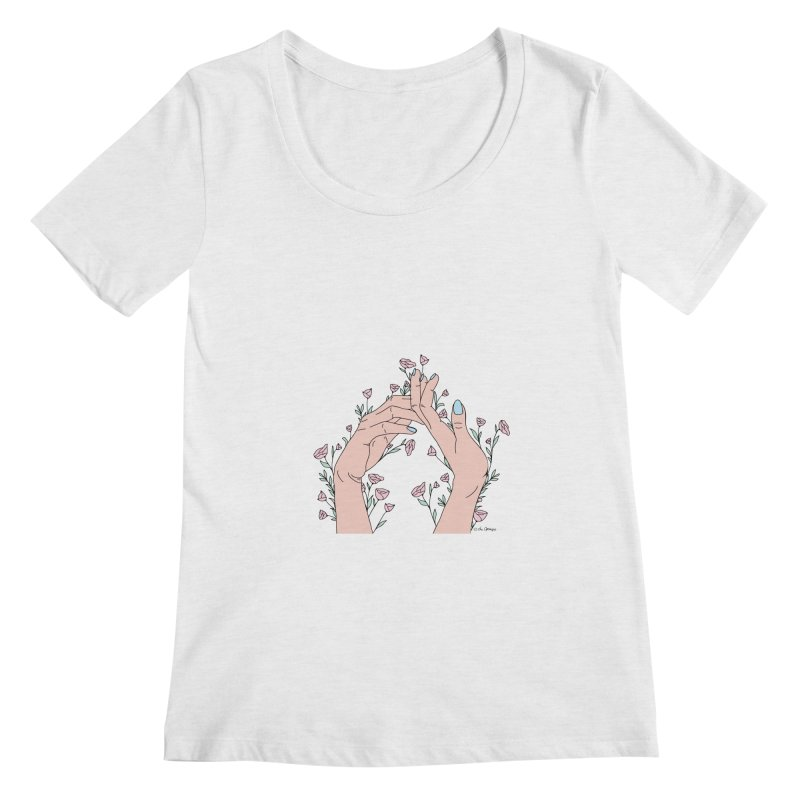 Let It Grow Women's Regular Scoop Neck by The Optimist