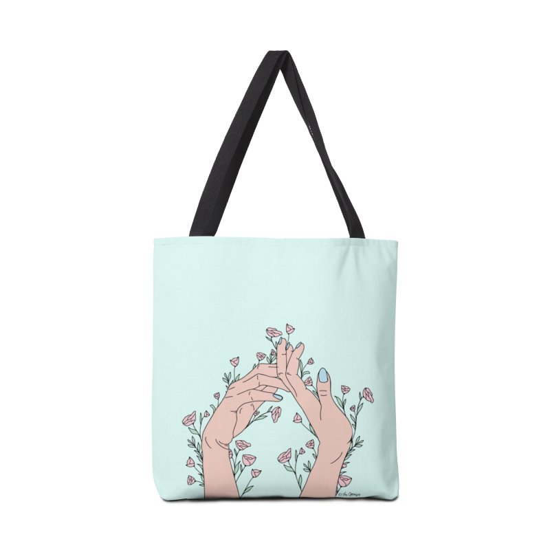 Let It Grow Accessories Tote Bag Bag by The Optimist
