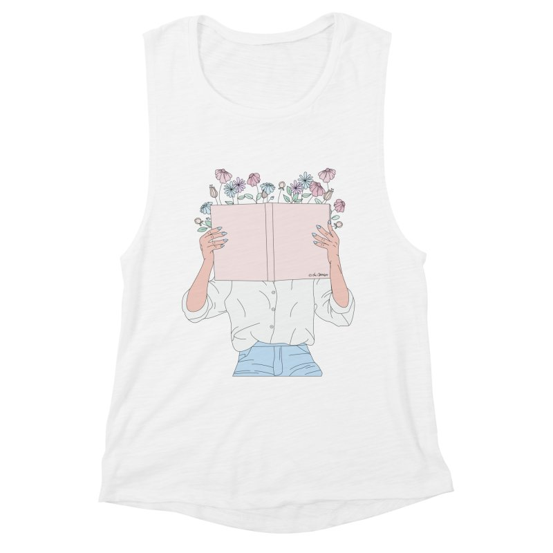 Read All About It Women's Muscle Tank by The Optimist