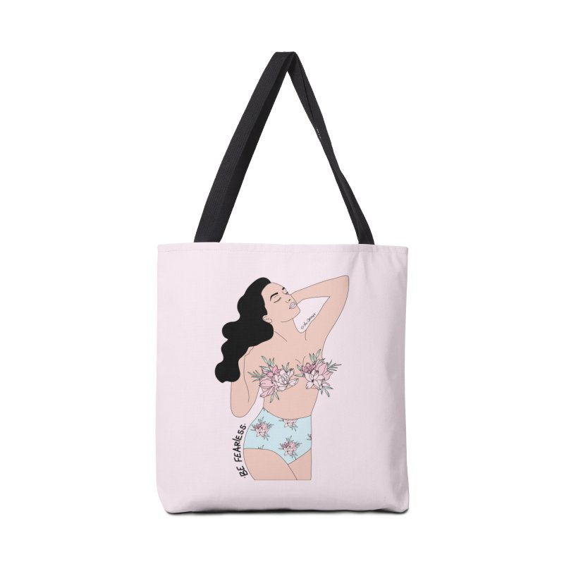 Fearless Girl Accessories Tote Bag Bag by The Optimist