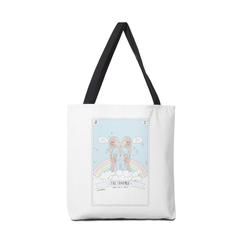 Gemini - The Charmer Accessories Tote Bag Bag by The Optimist