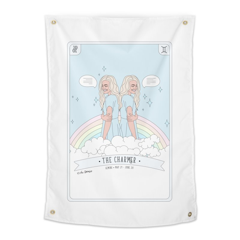 Gemini - The Charmer Home Tapestry by The Optimist