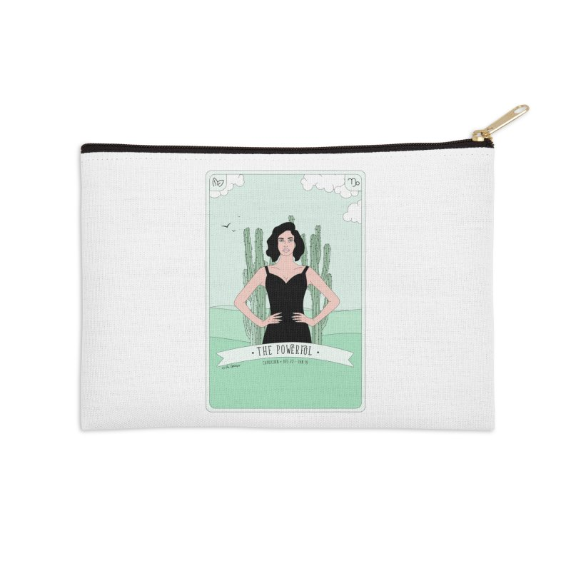 Capricorn - The Powerful Accessories Zip Pouch by The Optimist
