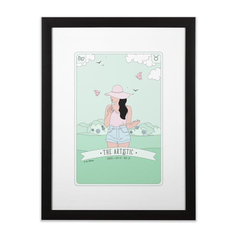Taurus - The Artistic Home Framed Fine Art Print by The Optimist