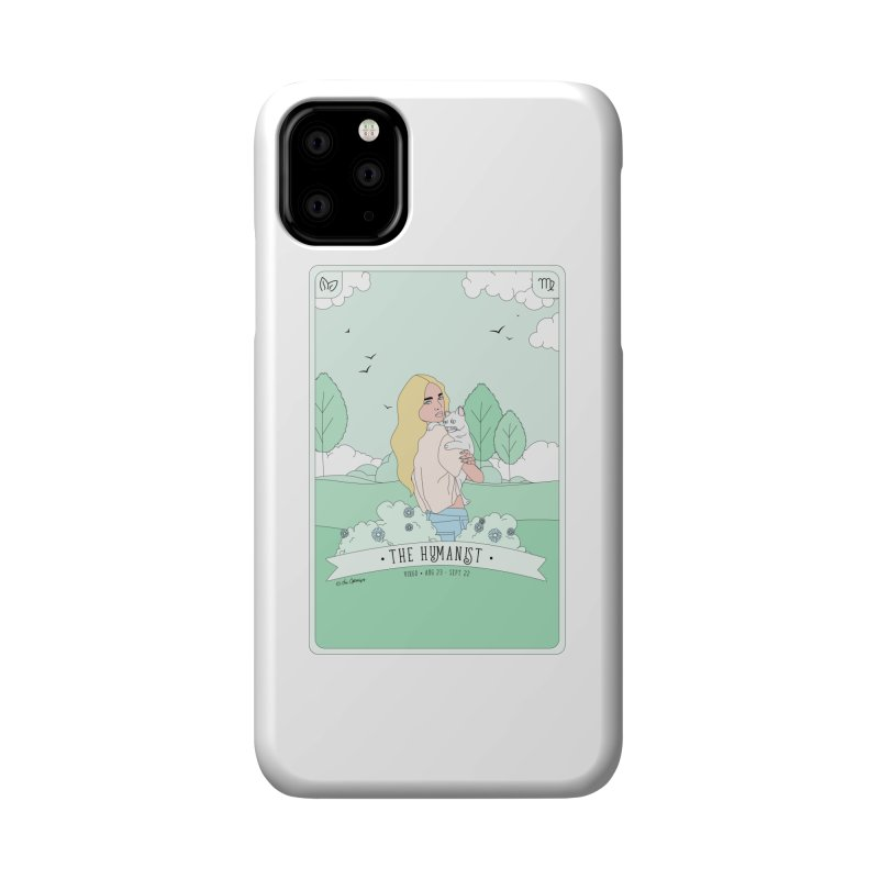 Virgo - The Humanist Accessories Phone Case by The Optimist