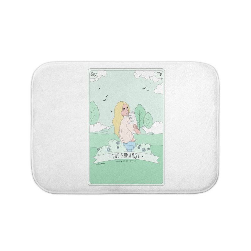 Virgo - The Humanist Home Bath Mat by The Optimist