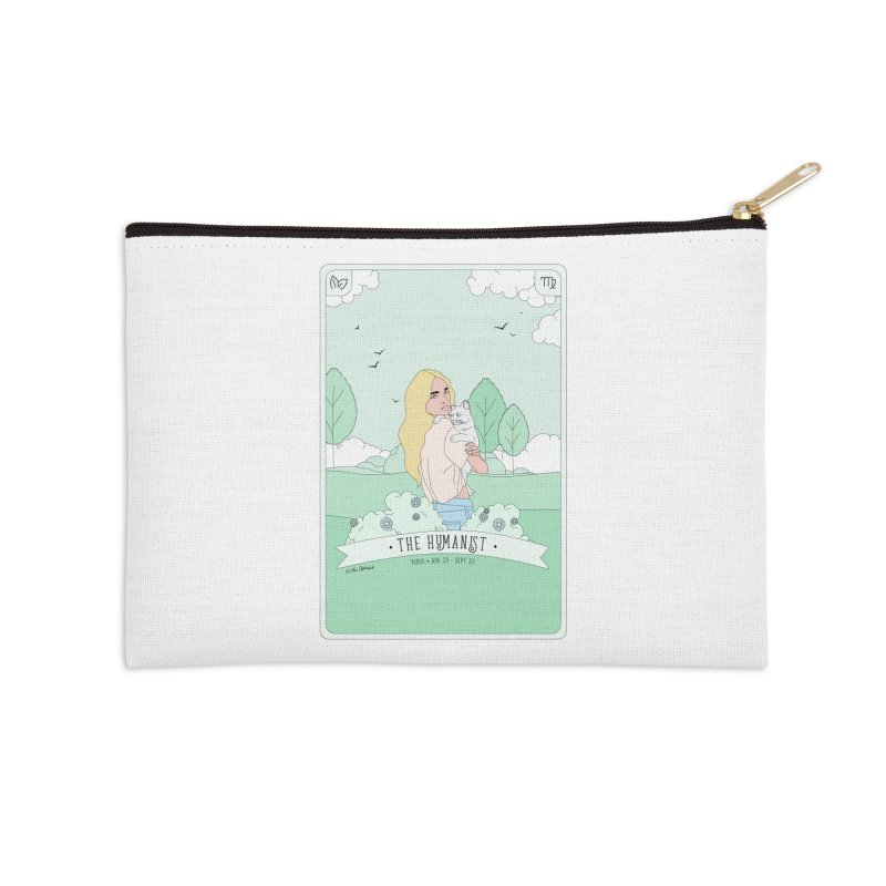 Virgo - The Humanist Accessories Zip Pouch by The Optimist