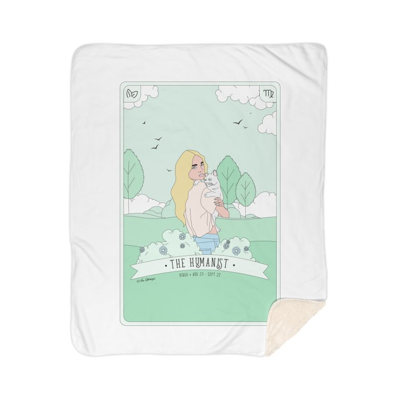 Virgo - The Humanist Home Blanket by The Optimist