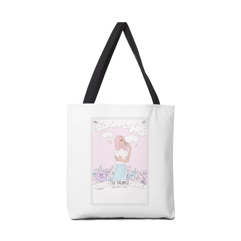 Cancer - The Dreamer Accessories Tote Bag Bag by The Optimist