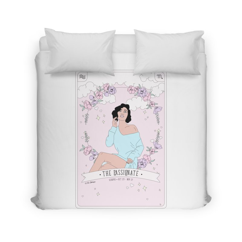 Scorpio - The Passionate Home Duvet by The Optimist