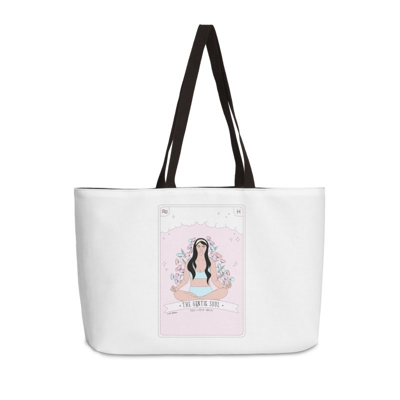 Pisces - The Gentle Soul Accessories Weekender Bag Bag by The Optimist