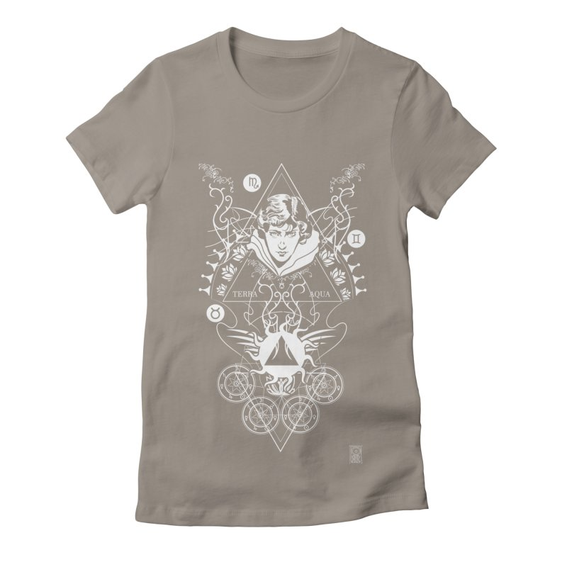 Alchemy: Three Times Three Women's Fitted T-Shirt by TheOrrchard's Artist Shop