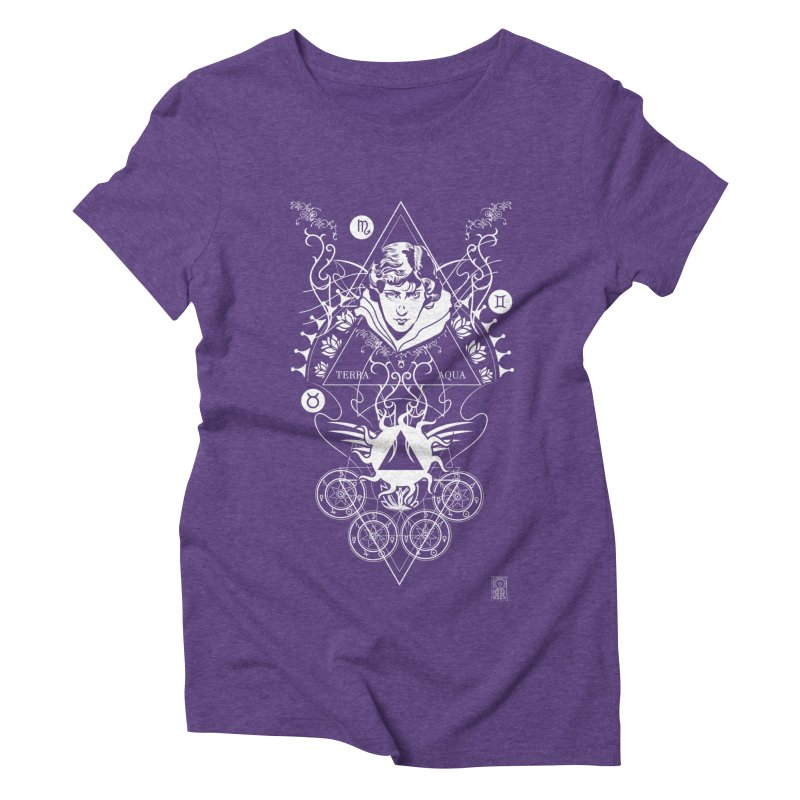 Alchemy: Three Times Three Women's Triblend T-Shirt by TheOrrchard's Artist Shop