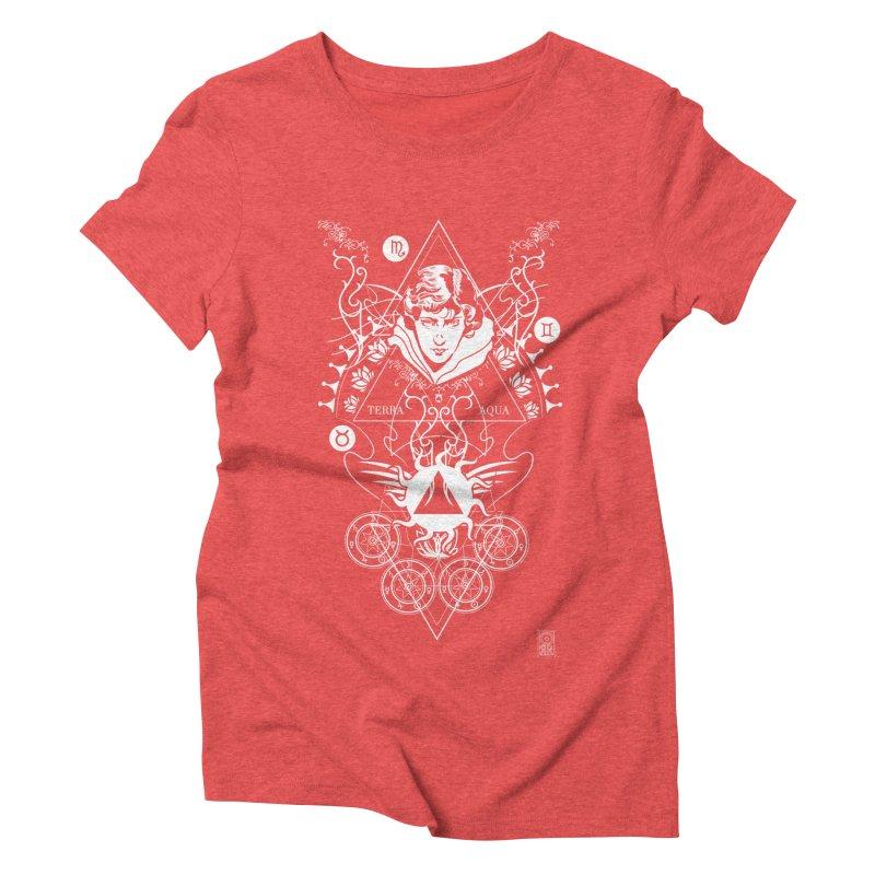 Alchemy: Three Times Three Women's Triblend T-Shirt by TheOrrchard's Artist Shop