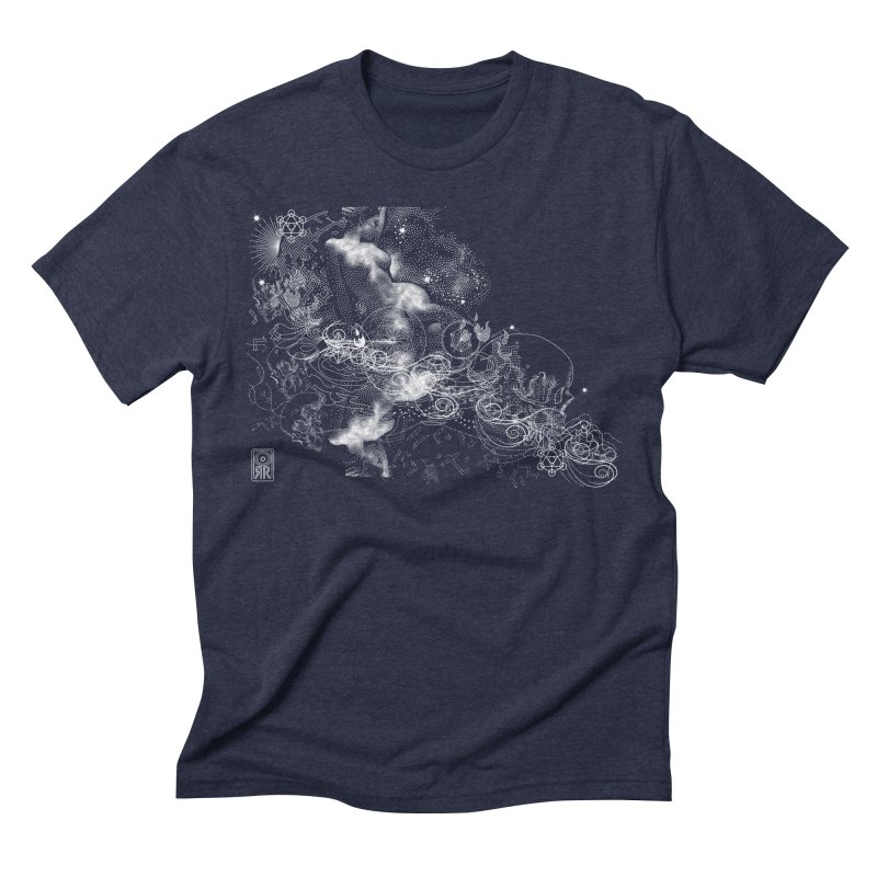 Rites of Spring: The Night Sea Journey  Men's Triblend T-Shirt by TheOrrchard's Artist Shop