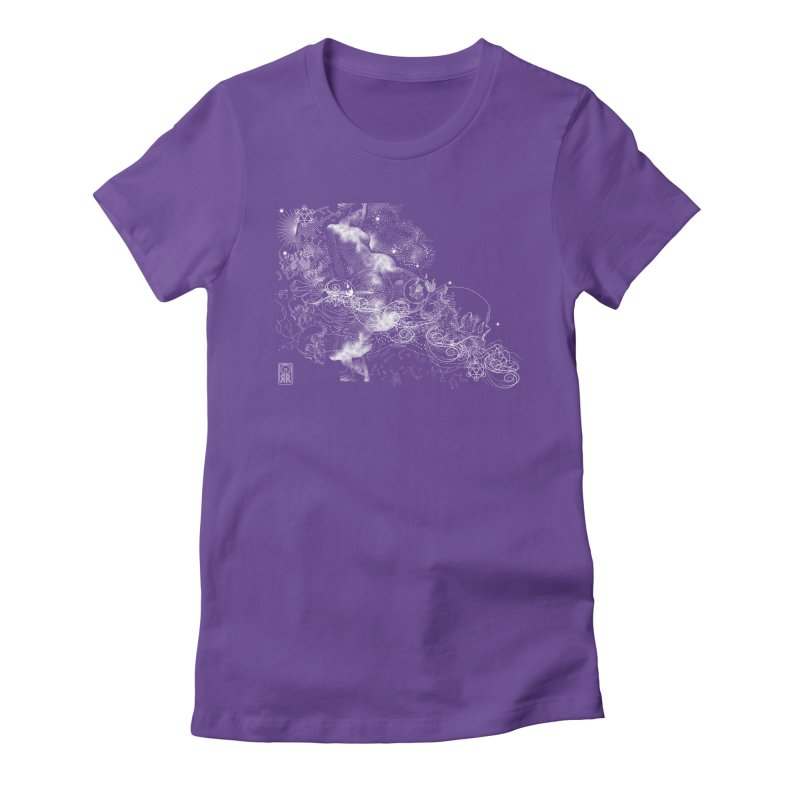 Rites of Spring: The Night Sea Journey  Women's Fitted T-Shirt by TheOrrchard's Artist Shop