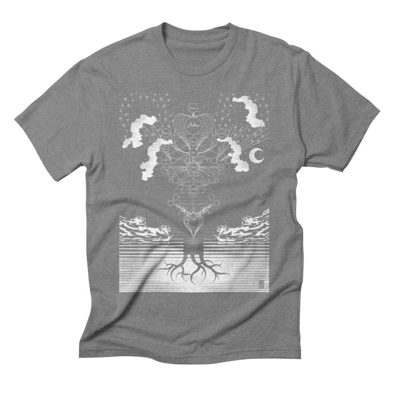Alchemy: Tree of Life Men's Triblend T-Shirt by TheOrrchard's Artist Shop